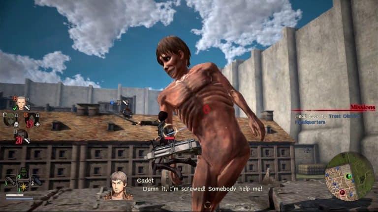 Attack On Titan 2 mobile